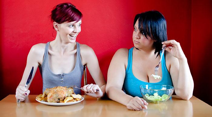 Для похудения нужно не голодать