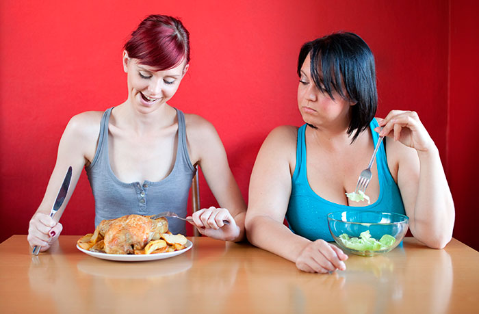 Правильно худеть без голода