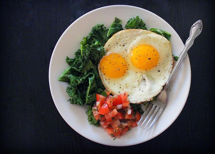 Яйца глазунья