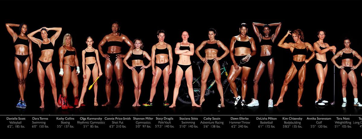 Разные типы телосложения
