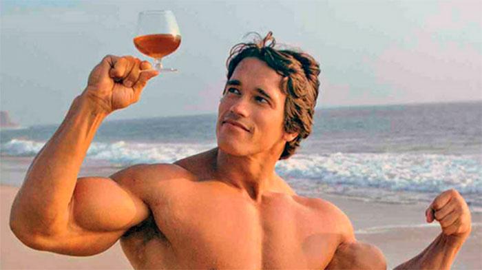 Арнольд и алкоголь
