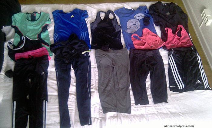 Спортивные шорты, майки и штаны