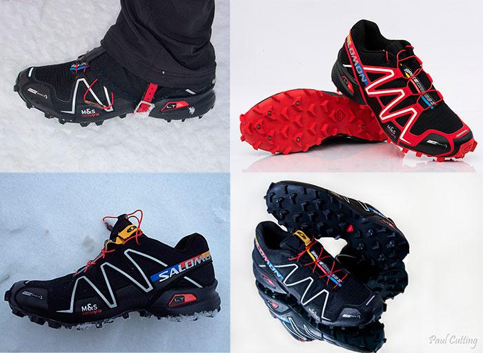 Кроссовки для пробежки в зимнюю пору года по снегу