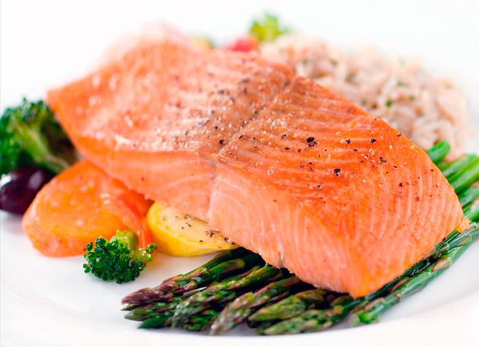 Рыба содержит белок и омега 3