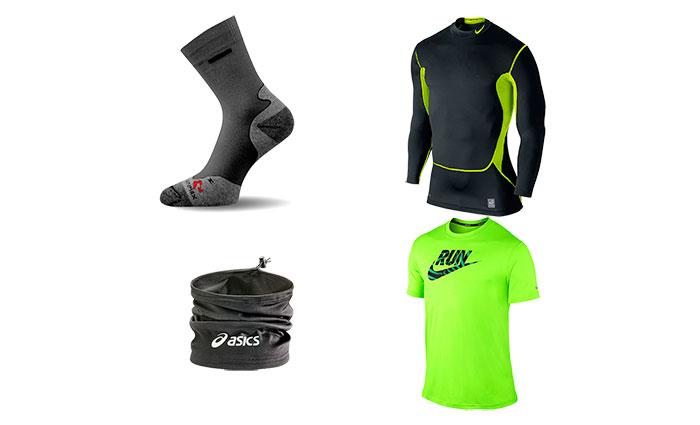 Одежда для бега - первый слой