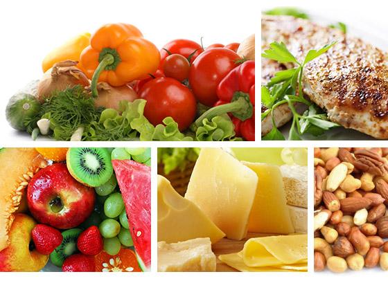 Разные продукты питания