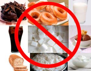 Отказ от высокоуглеводных продуктов