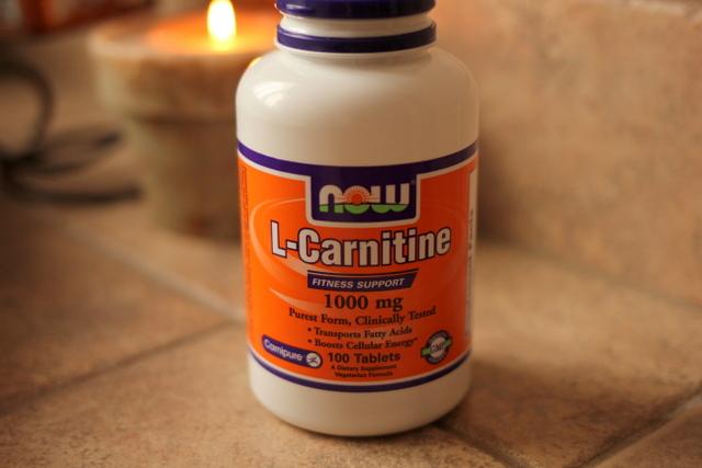 Вес набрала l-карнитин