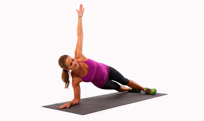 Вариант выполнения упражнения планка фото