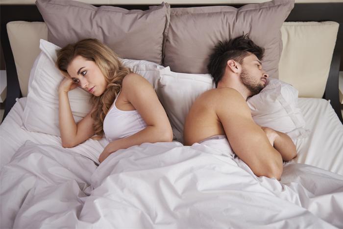 Низкий уровень тестостерона ведет к понижению уровня интимной жизни