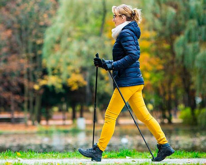 Прогулка на свежем воздухе для понижения давления
