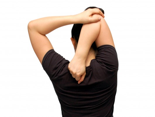 Упражнения на растяжку плеч