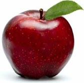 Яблоко полезно для очистки печени