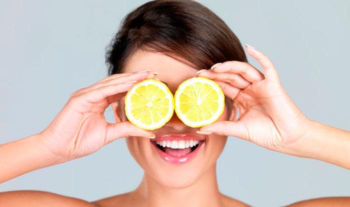 Лимонный сок от мешков под глазами
