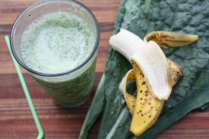 Бананово капустный коктейль для похудения