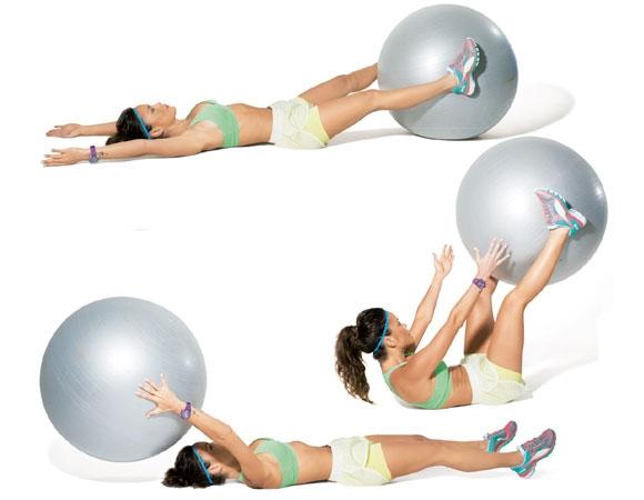 упражнение на знакомства с мячом