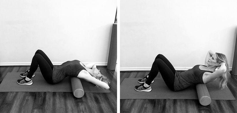 Упражнение для диафрагмы