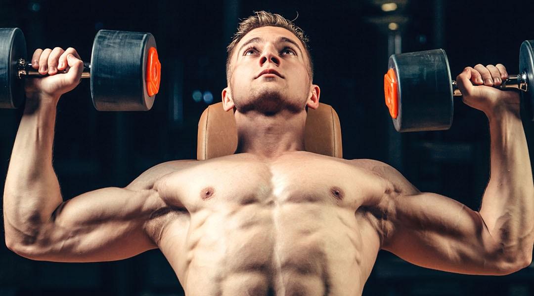 Силовая тренировка для набора мышечной массы