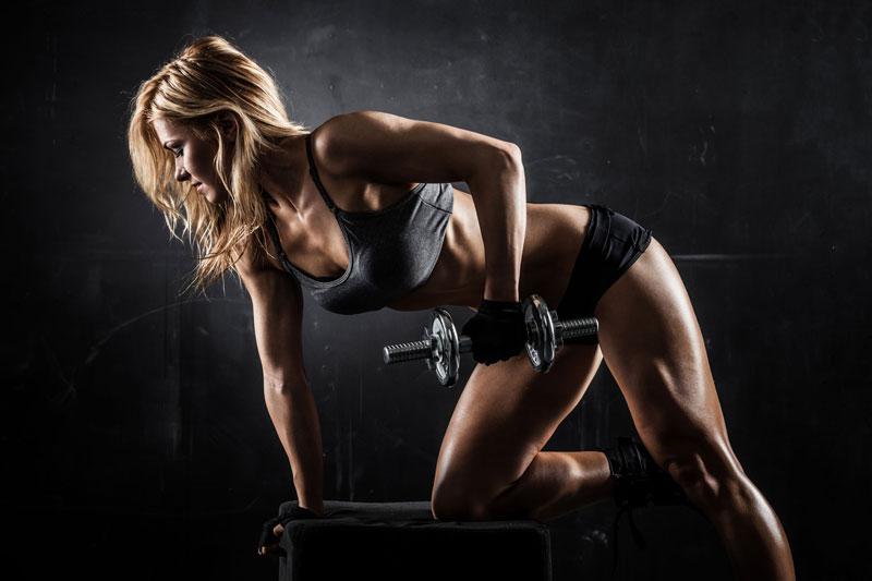 Силовые тренировки с отягощениями