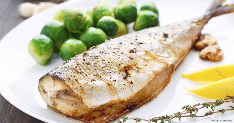 Рыба приготовленная в духовке