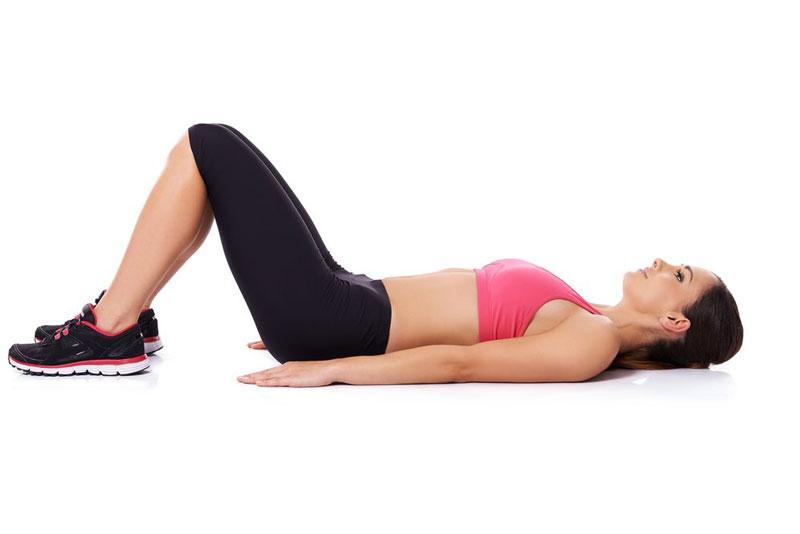 Сокращение мышц для выполнения упражнения Кегеля