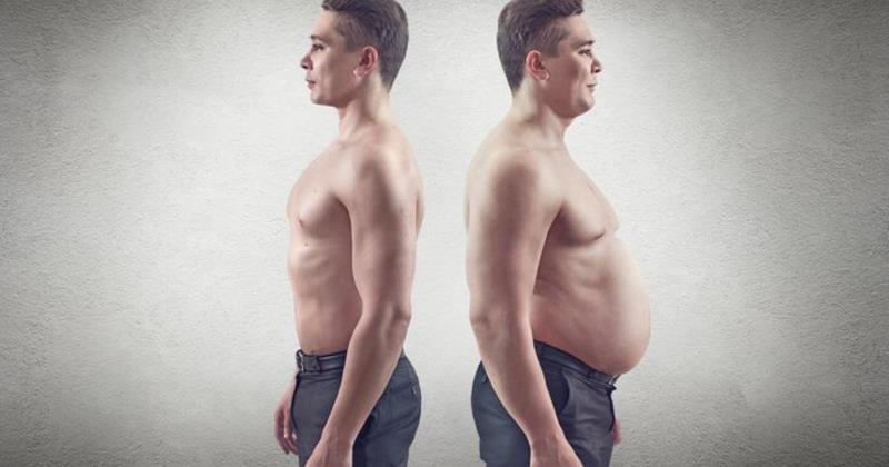 Как согнать жир с живота мужчине