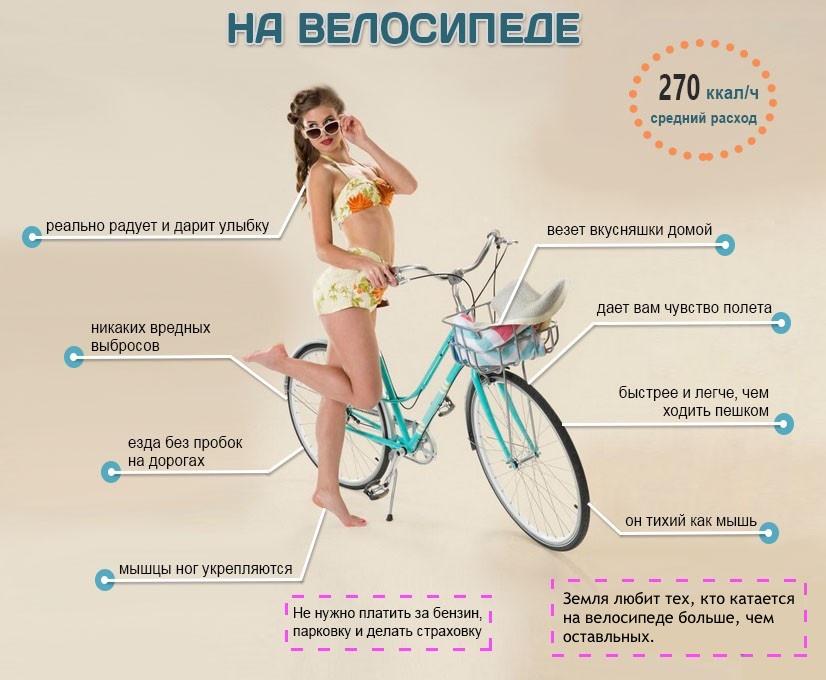 Чем полезно ездить на велосипеде