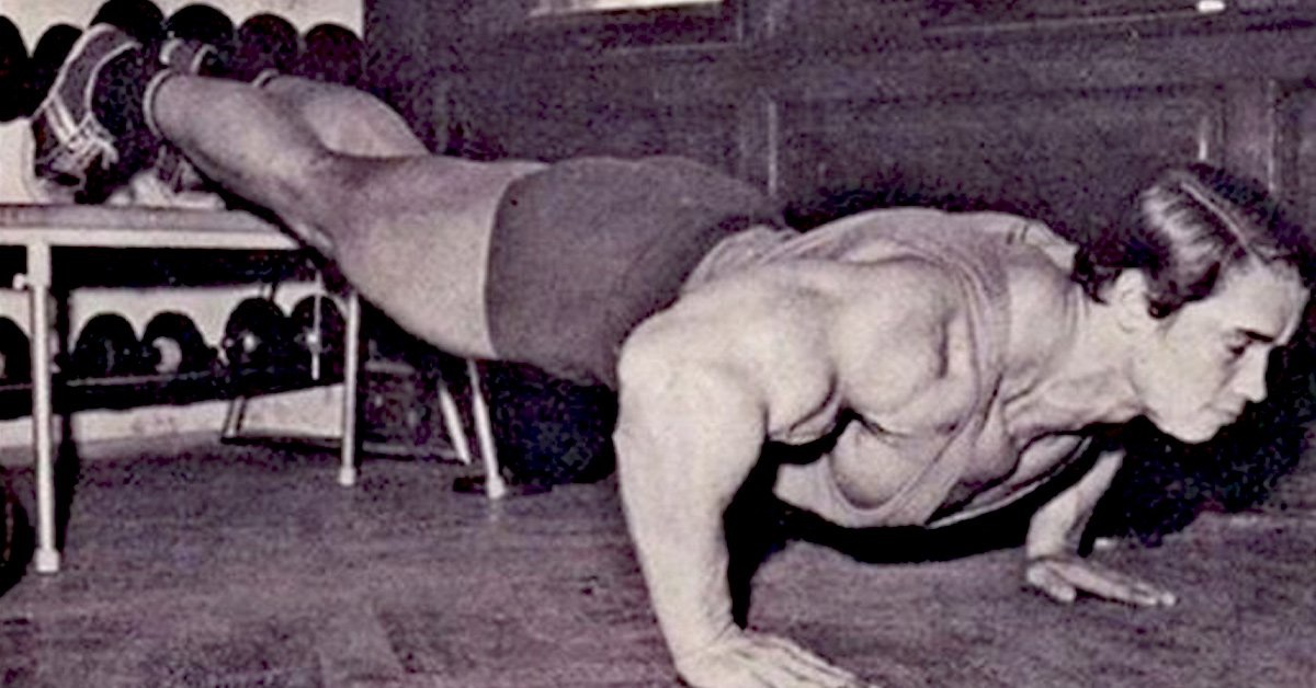 Упражнения для грудных мышц дома